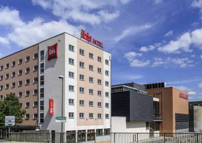 Ibis Hotel Würzburg City Aussenansicht