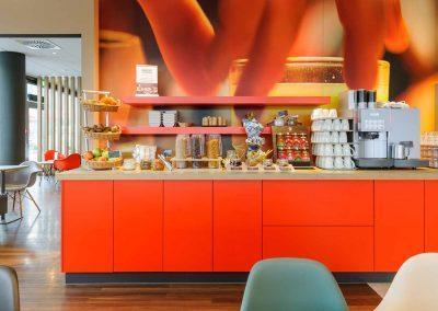 Ibis Hotel Würzburg City Frühstück 2