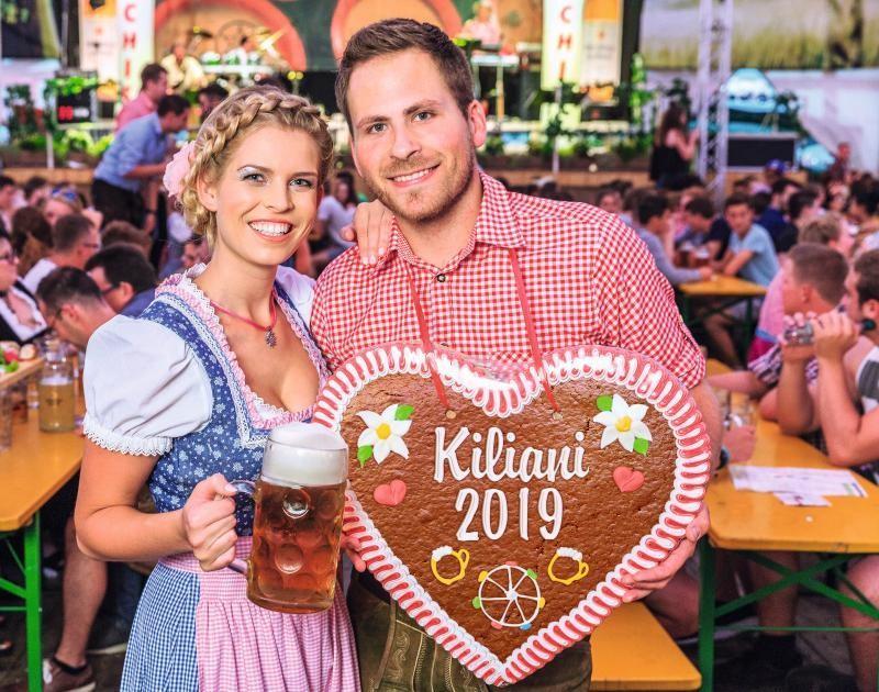 Kiliani Volksfest Würzburg © Würzburger Hofbräu